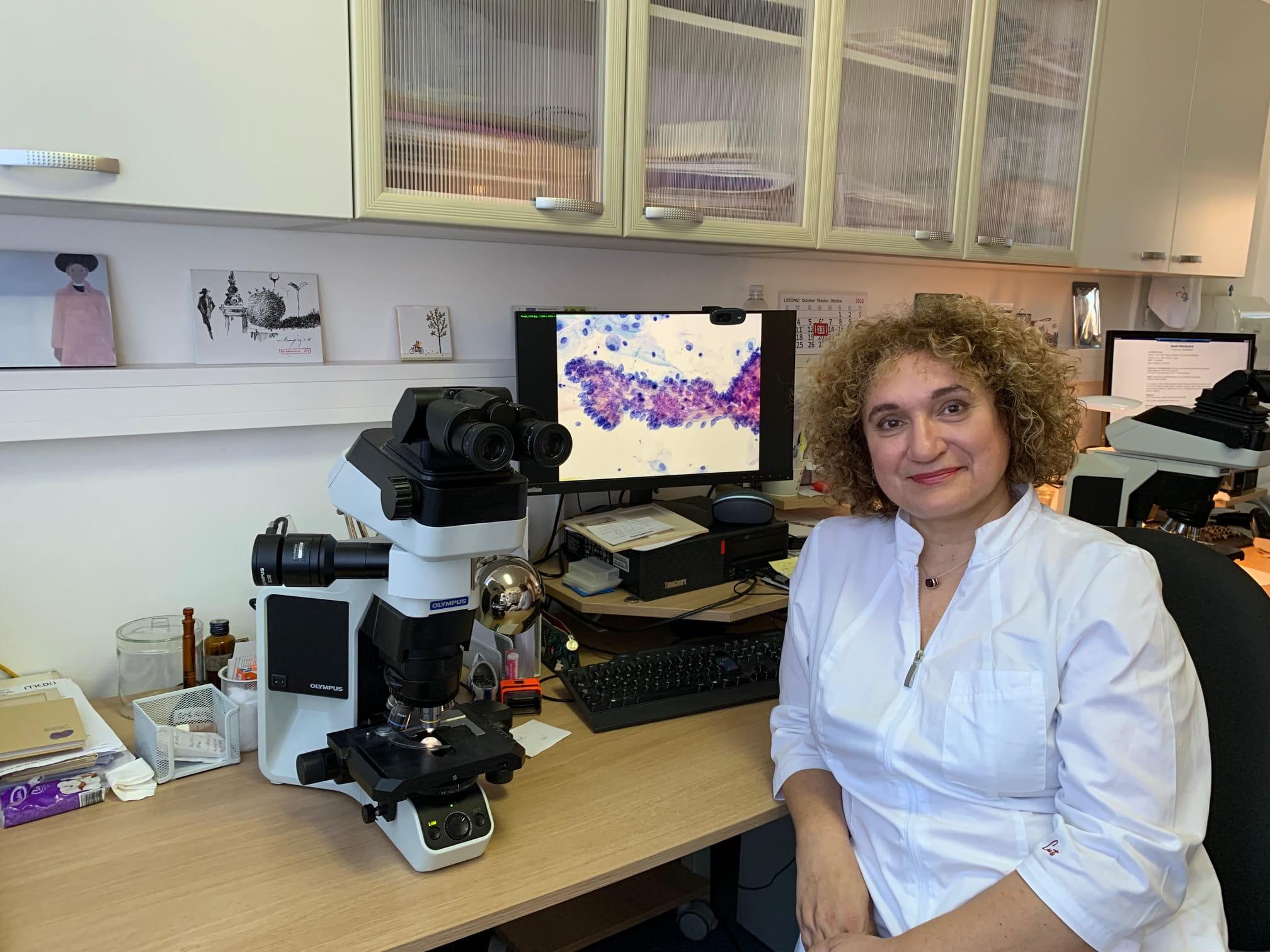 Danijela Vrdoljak-Mozetič glavna tajnica Europske federacije citoloških društava